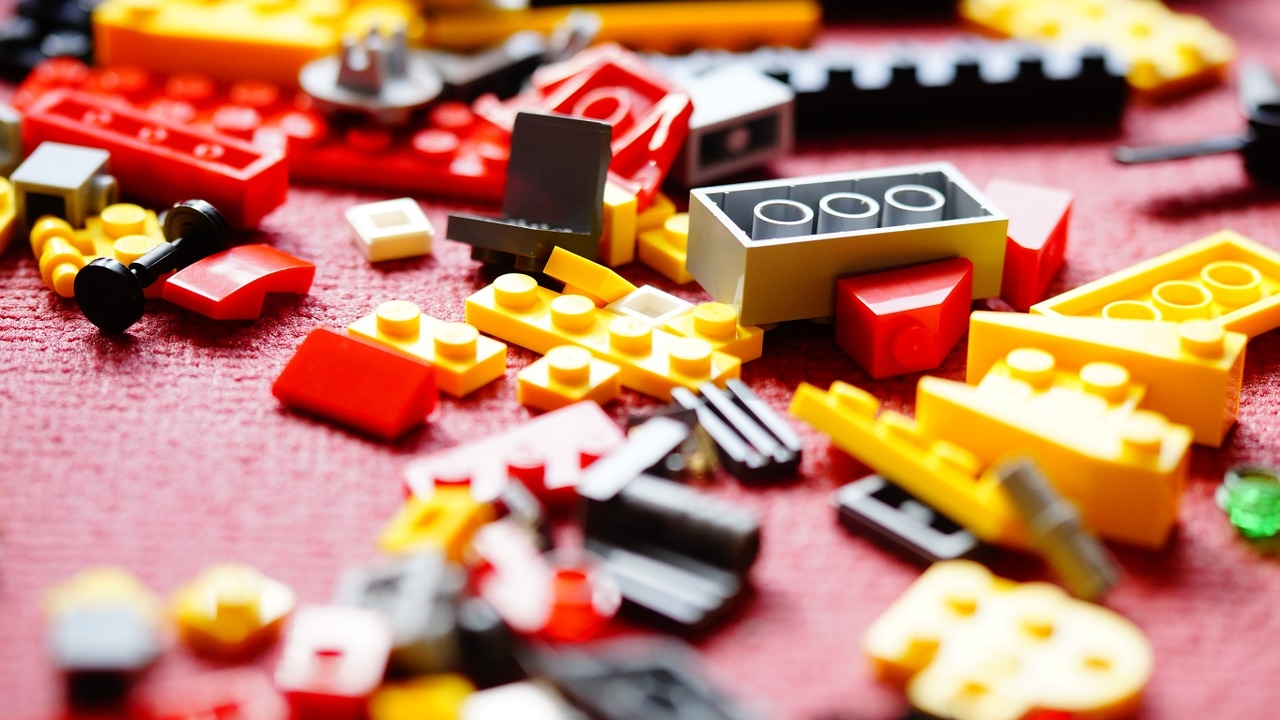 Półki na ludziki LEGO