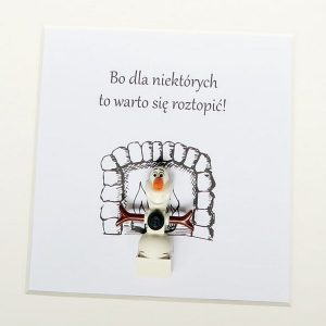 Ramki Lego Olaf Z Krainy Lodu Figurkowe Ramki