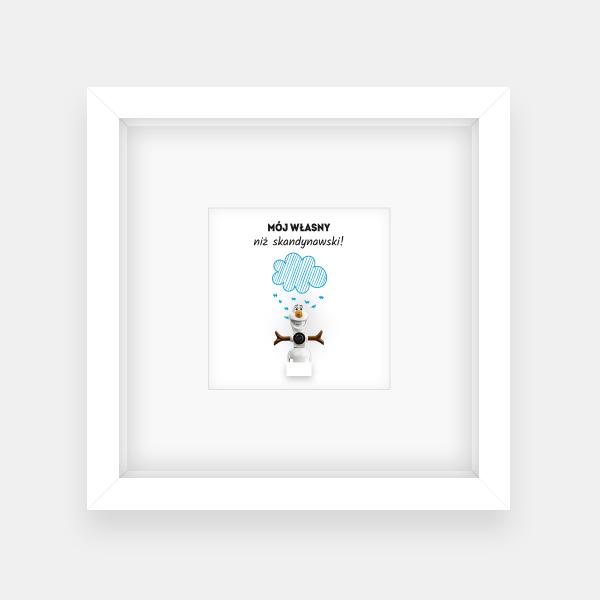 Olaf – niebieska chmurka