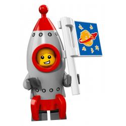 Lego Minifigures 71018 Chłopiec Rakieta