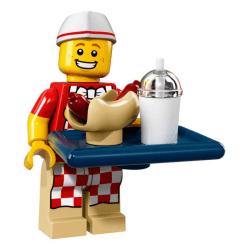 Lego Minifigures 71018 Człowiek Hot Dog