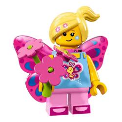 Lego Minifigures 71018 Dziewczyna Motyl