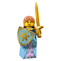 Lego Minifigures 71018 Kobieta Elf