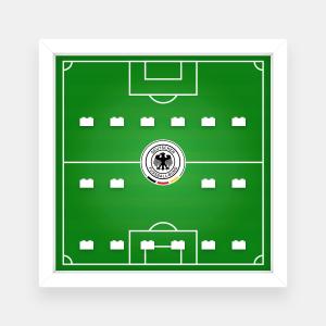Ramka dla Lego Minifigures (Seria German Football Team) - #1 Boisko