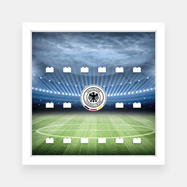 Ramka dla Lego Minifigures (Seria German Football Team) - #2 Stadion
