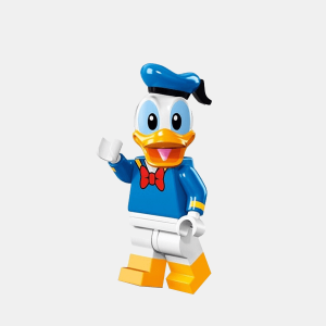 Kaczor Donald - Lego Minifigures 71012 The Disney Series - dis010
