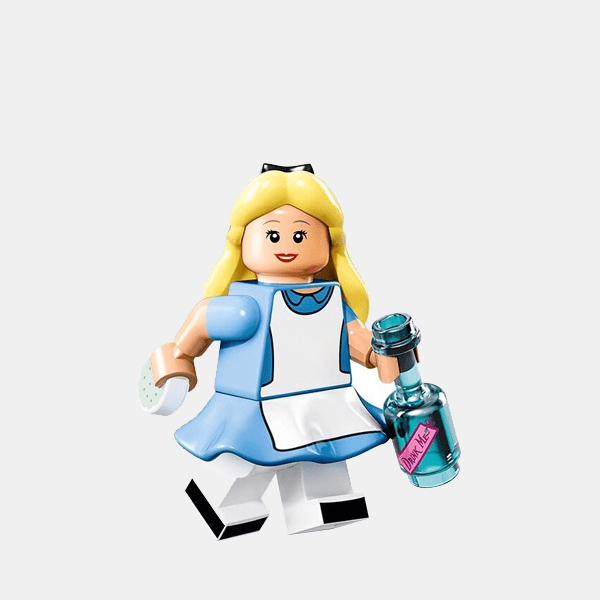 Alicja - Lego Minifigures 71012 The Disney Series - dis007