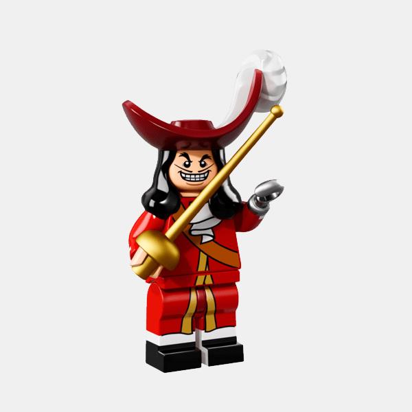 Kapitan Hak - Lego Minifigures 71012 The Disney Series - dis016