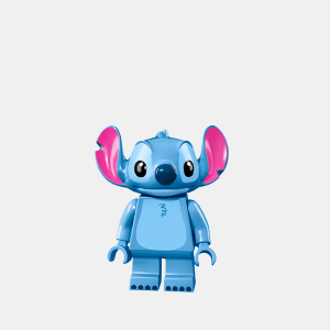 Stitch - Lego Minifigures 71012 The Disney Series - dis001