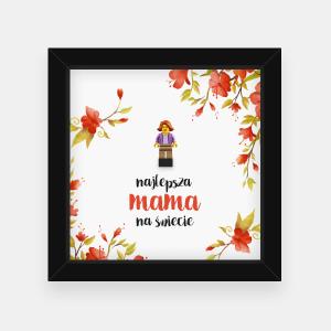 Najlepsza Mama na świecie - ramka dla mamy