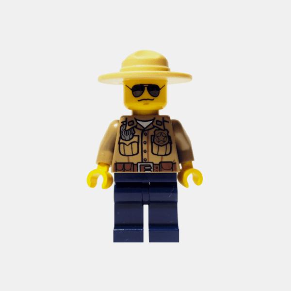 Straż leśna – Lego City – cty264