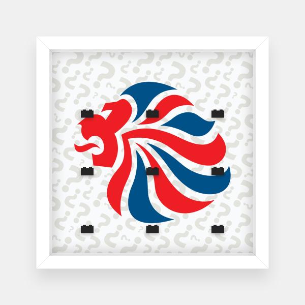 Ramka dla Lego Minifigures (Seria Team GB Olympic) #1