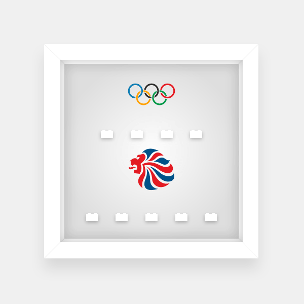Lego Minifigures GB Team Olympics