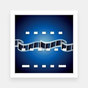 Ramka dla Lego Minifigures (Seria The Lego Movie) - #1 Film