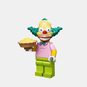 Krusty the Clown - Lego Minifigures 71005 The Simpsons Series 1 - colsim-8