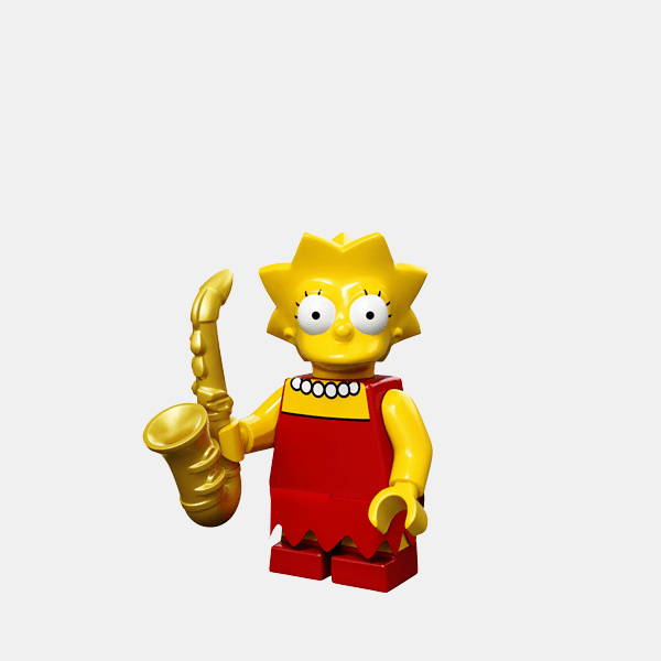 Lisa Simpson - Lego Minifigures 71005 The Simpsons Series 1 - colsim-4