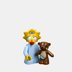 Maggie Simpson - Lego Minifigures 71005 The Simpsons Series 1 - colsim-5