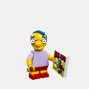 Milhouse Van Houten - Lego Minifigures 71005 The Simpsons Series 1 - colsim-9