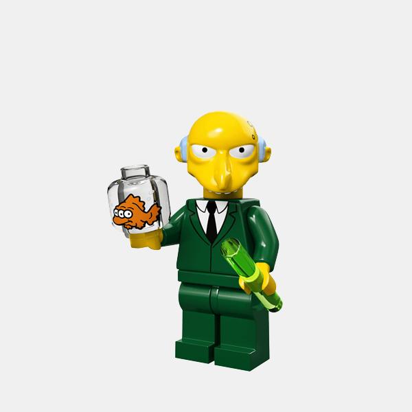 Mr. Burns - Lego Minifigures 71005 The Simpsons Series 1 - colsim-16