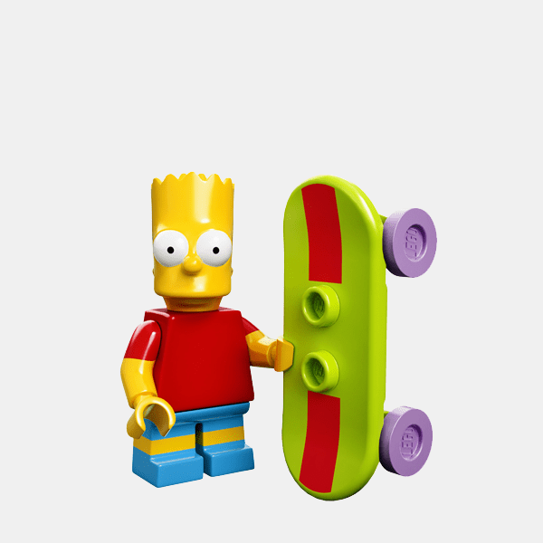 Bart Simpson - Lego Minifigures 71005 The Simpsons Series 1 - colsim-2