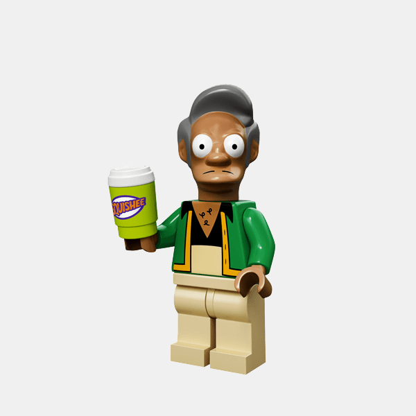 Apu Nahasapeemapetilon - Lego Minifigures 71005 The Simpsons Series 1 - colsim-11