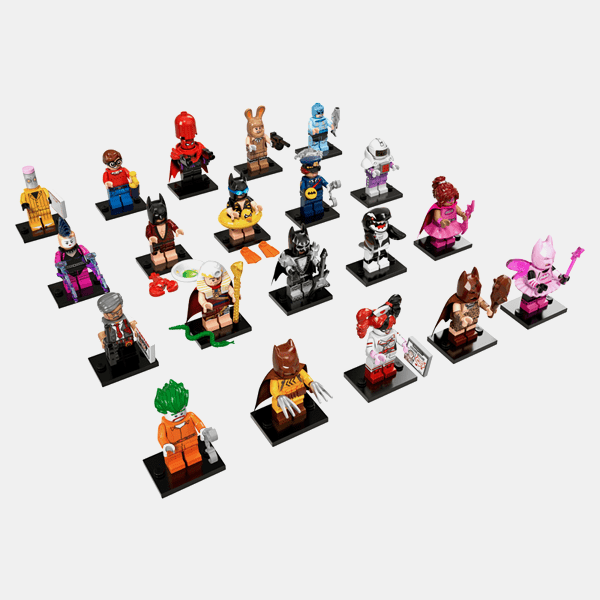 Lego 71017 Minifigures The Lego Batman Movie Series