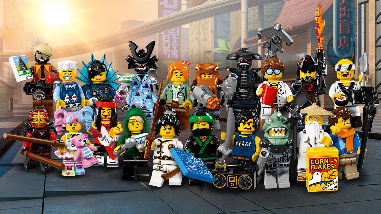 Nowe Minifigurki Lego Ninjago Movie Figurkowe Ramki