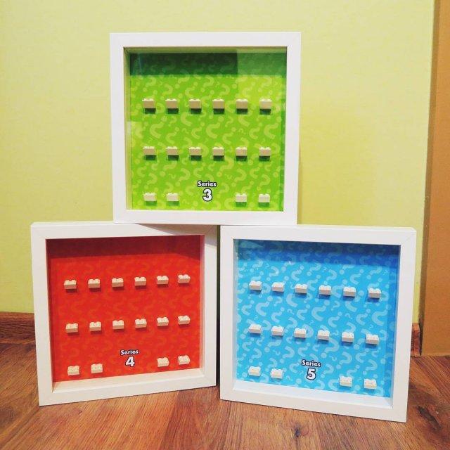 Ramki do wszystkich 17 standardowych serii LEGO w super zestawiehellip