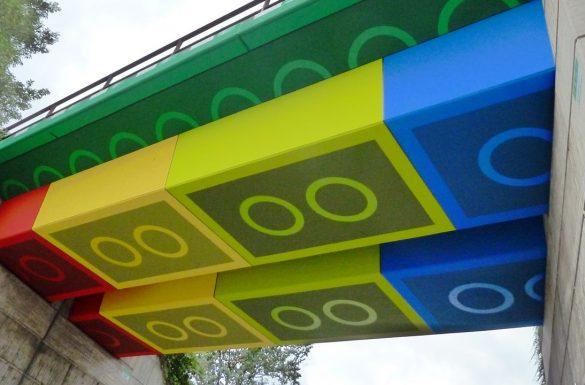 Most z klocków LEGO
