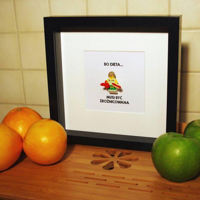 dzisiaj Europejski Dzie Zdrowego Jedzenia i Gotowania ramka z przymrueniemhellip