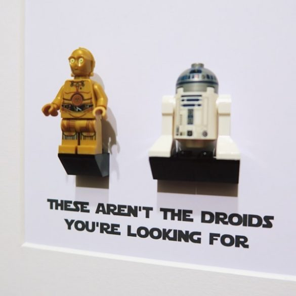 Star Wars - These aren't the droids you're looking for