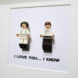I love you. I know. Ramka dla fanów Star Wars