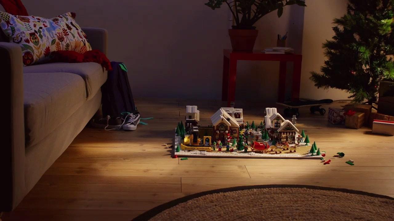 Świąteczne przygotowania w świecie LEGO