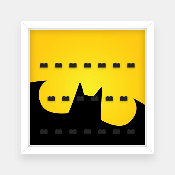 Ramka dla Lego Minifigures (Seria Batman) #4