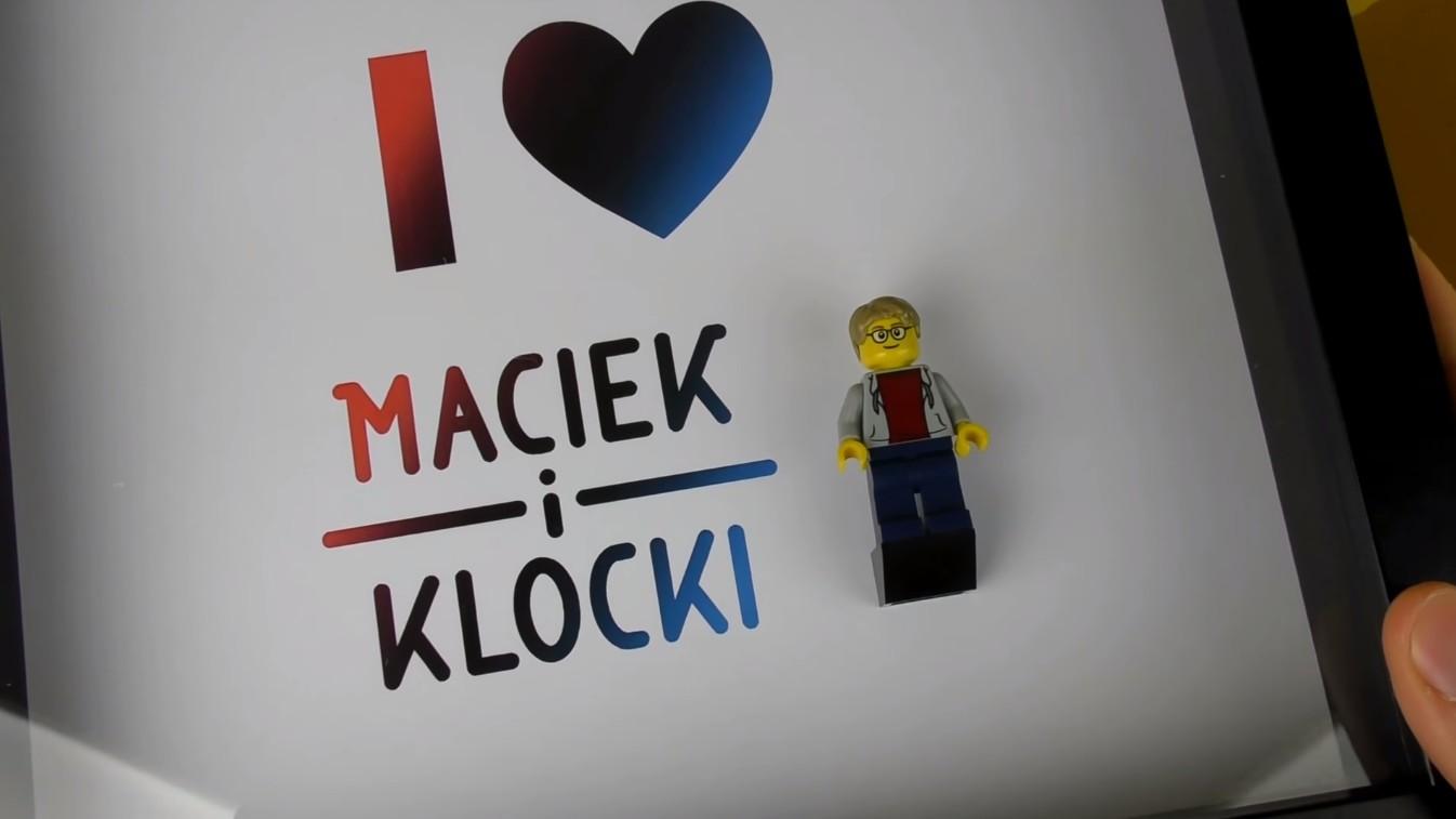Maciek i Klocki z Walentynką od Figurkowych Ramek – Figurkowe ramki