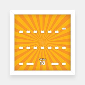 Ramka dla Lego Minifigures (Seria 18) - #1 Promienie