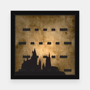 Ramka dla Lego Minifigures (Serie Harry Potter i Fantastyczne zwierzęta) - #1 Hogwart