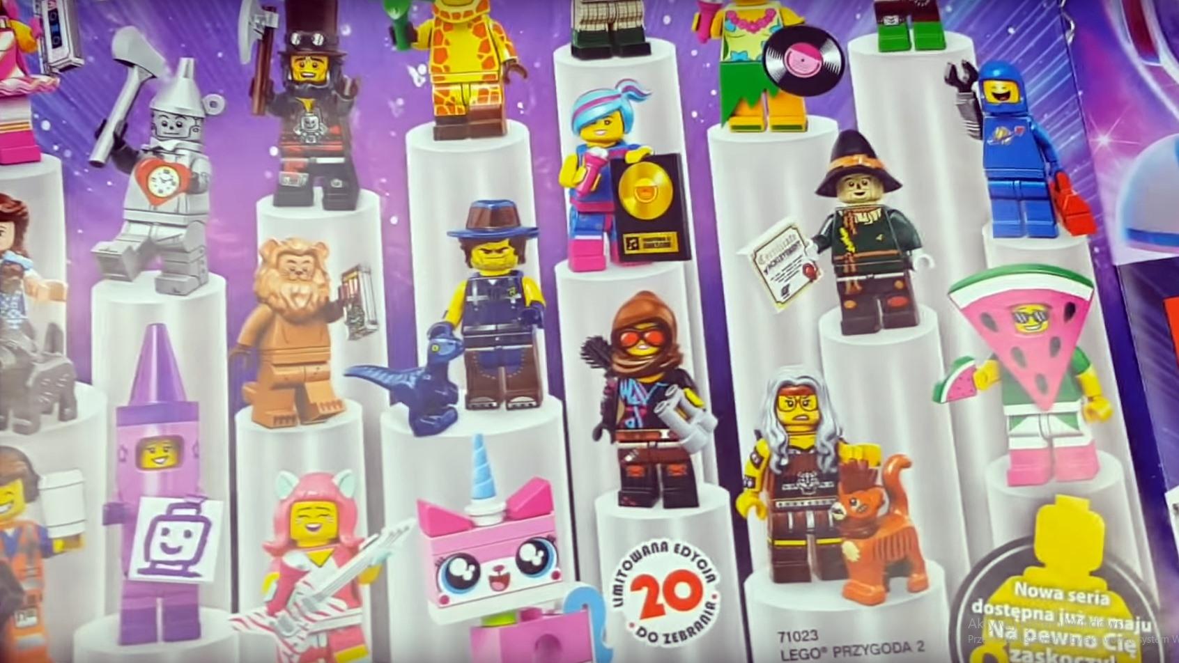 Nadchodzi Nowa Seria Cmf The Lego Movie 2 Figurkowe Ramki