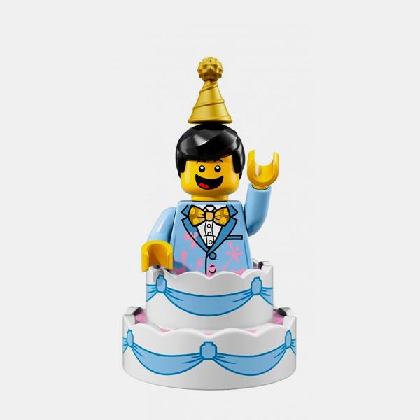 Birthday Cake Guy - Lego Minifigures 71021 Series 18 - col18-10