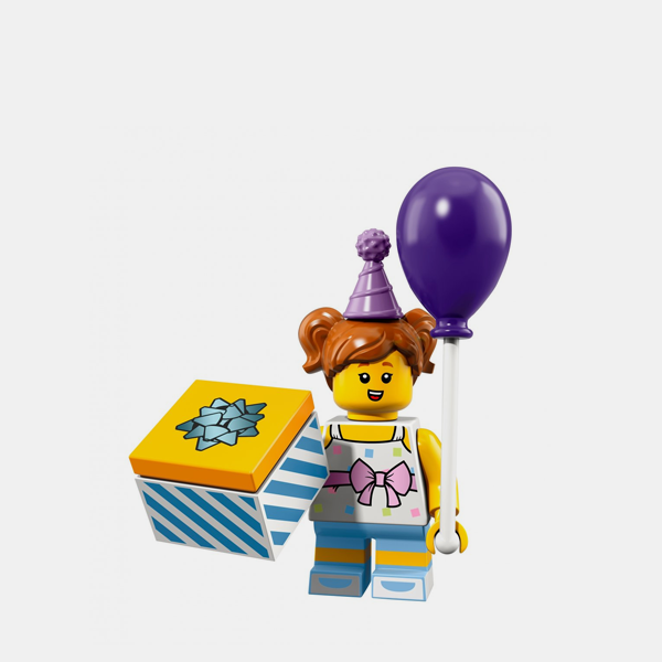 Birthday Party Girl - Lego Minifigures 71021 Series 18 - col18-6