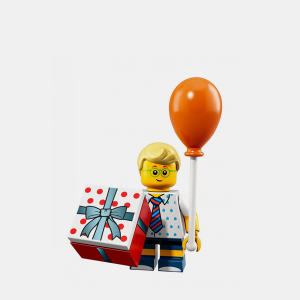 Birthday Party Boy - Lego Minifigures 71021 Series 18 - col18-16
