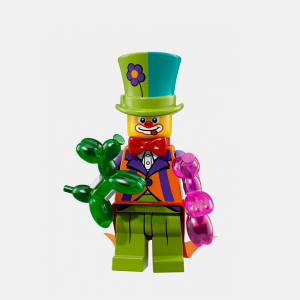 Party Clown - Lego Minifigures 71021 Series 18 - col18-4