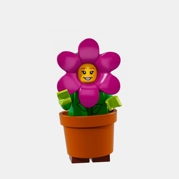 Flower Pot Girl - Lego Minifigures 71021 Series 18 - col18-14