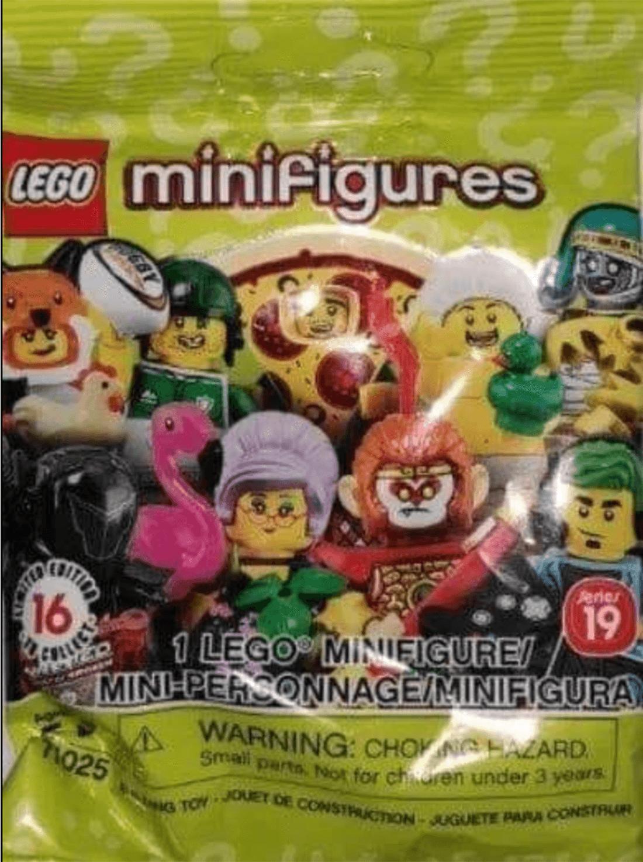 LEGO Seria 19 71025 Minifigures