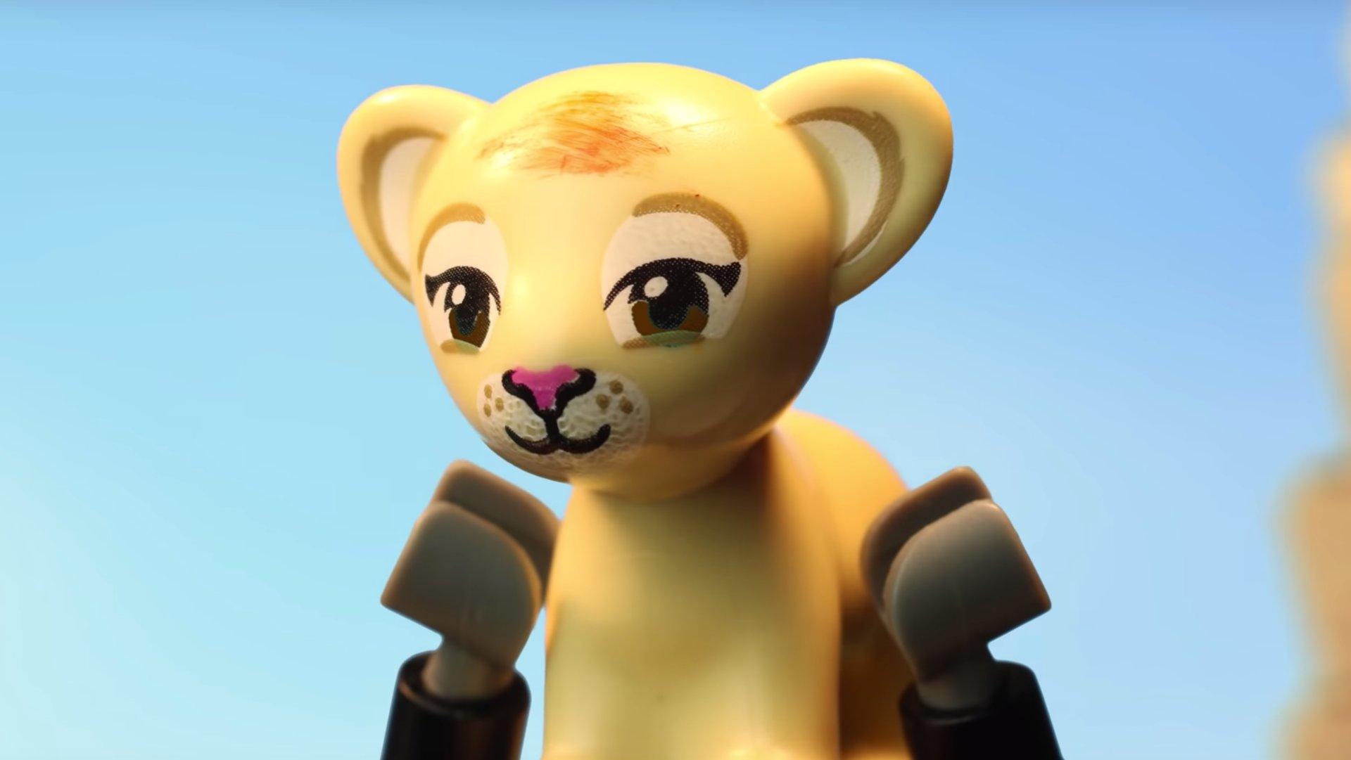 Król Lew (2019) - wywiad z Karolem Pikułą, twórcą trailera LEGO – Figurkowe ramki