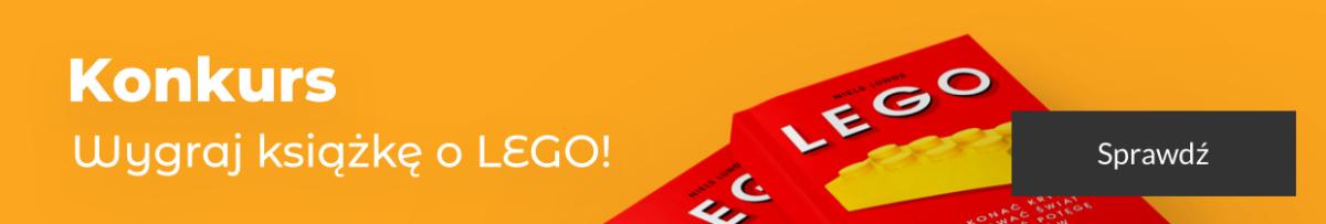 Konkurs - wygraj książkę LEGO