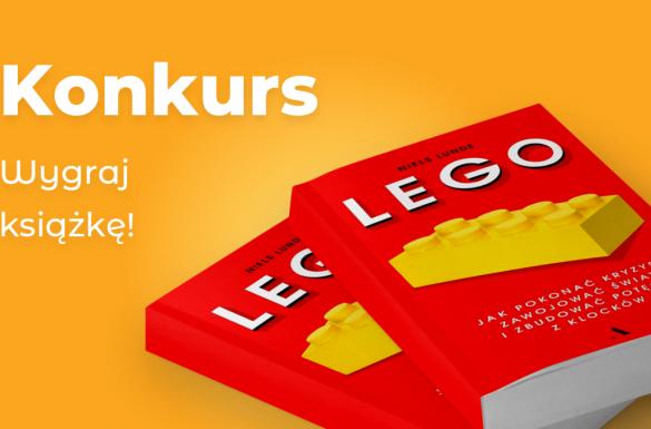 Konkurs. Wygraj książkę o LEGO