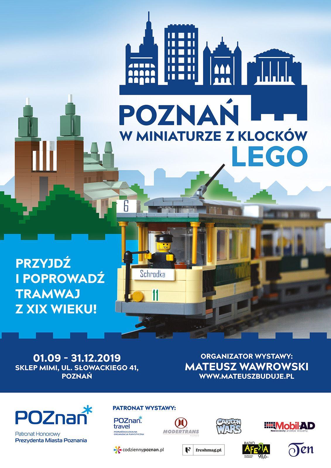 Wystawa Poznań w miniaturze z klocków LEGO