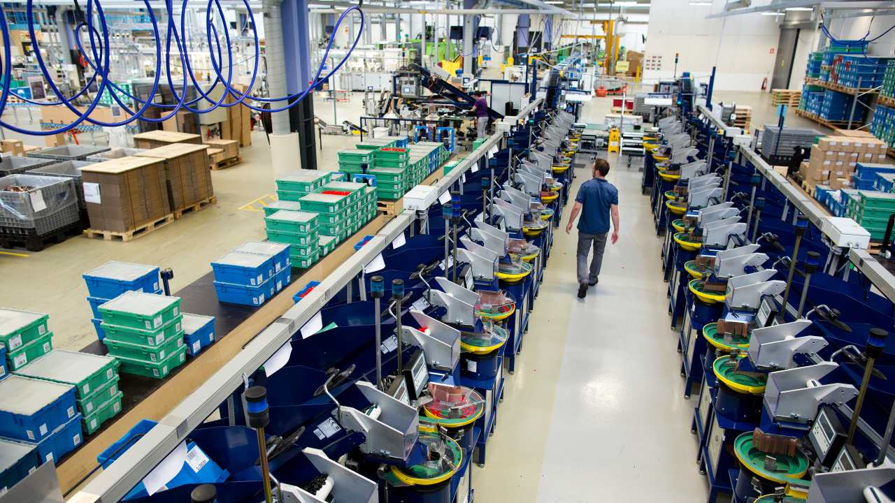Fabryka klocków LEGO