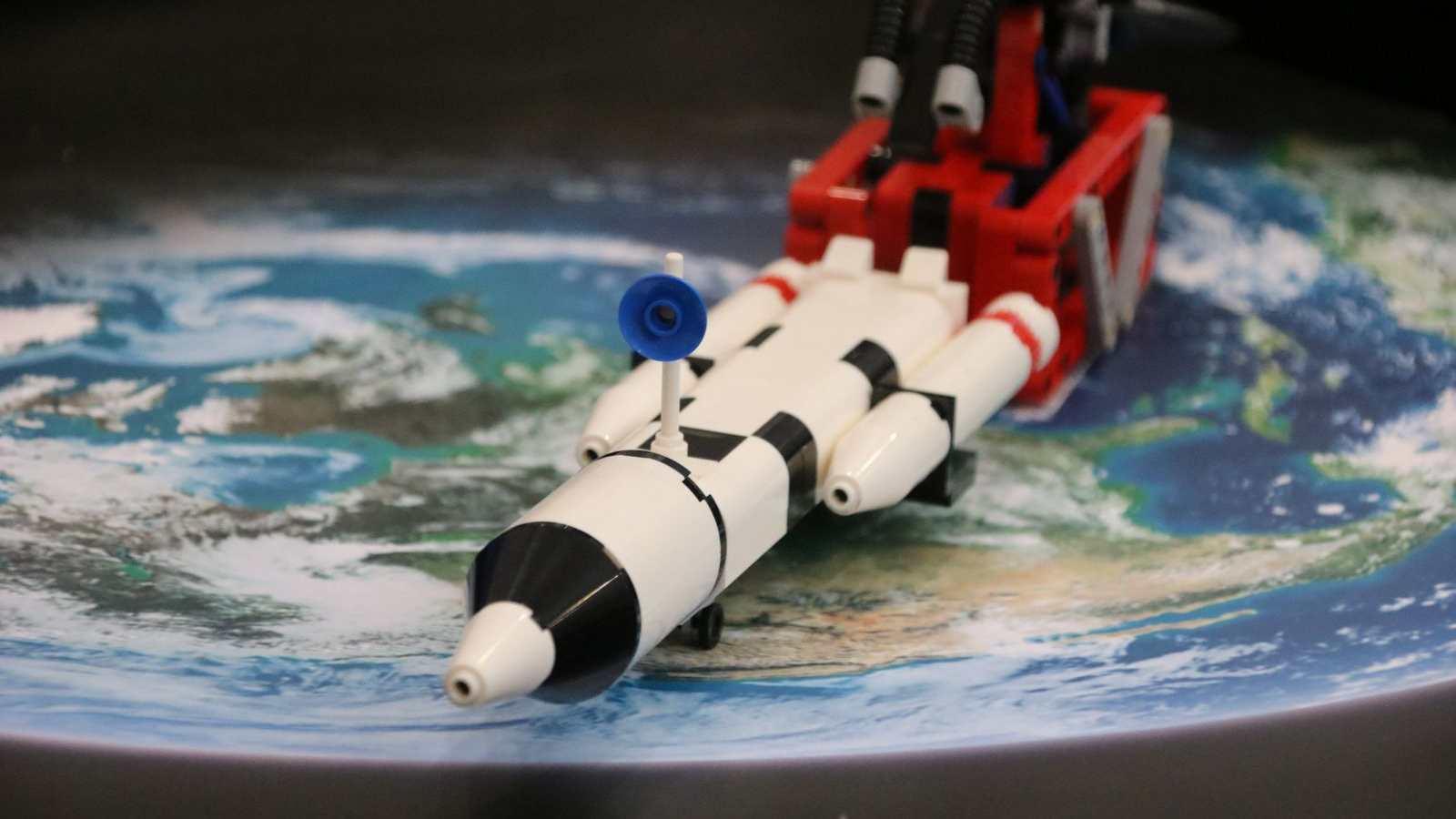 Nauka z klocków LEGO na UAM, fot. mat. prasowe UAM